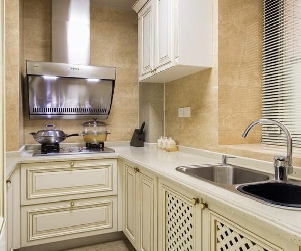 简约 欧式 混搭 三居 舒适风格 白领 80后 小资 厨房图片来自成都V2装饰在贵气典雅 打造简欧风住宅的分享