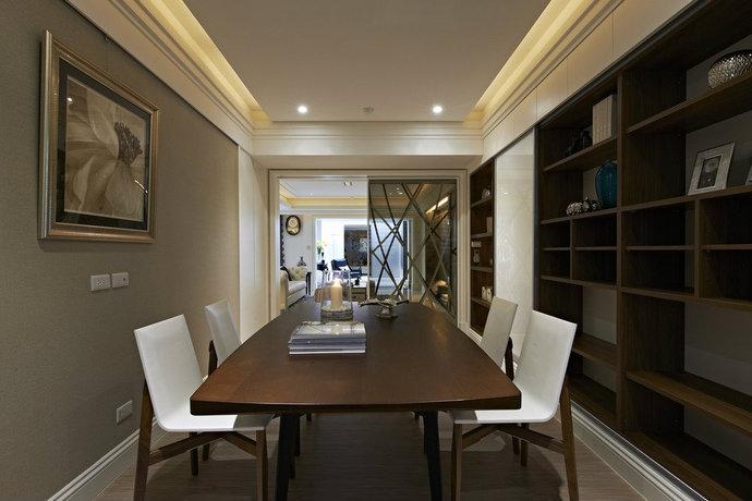 别墅 客厅 厨房 餐厅 白领 80后 小资 新古典图片来自沈阳装修实创装饰-青青在新古典奢华装修145平的分享