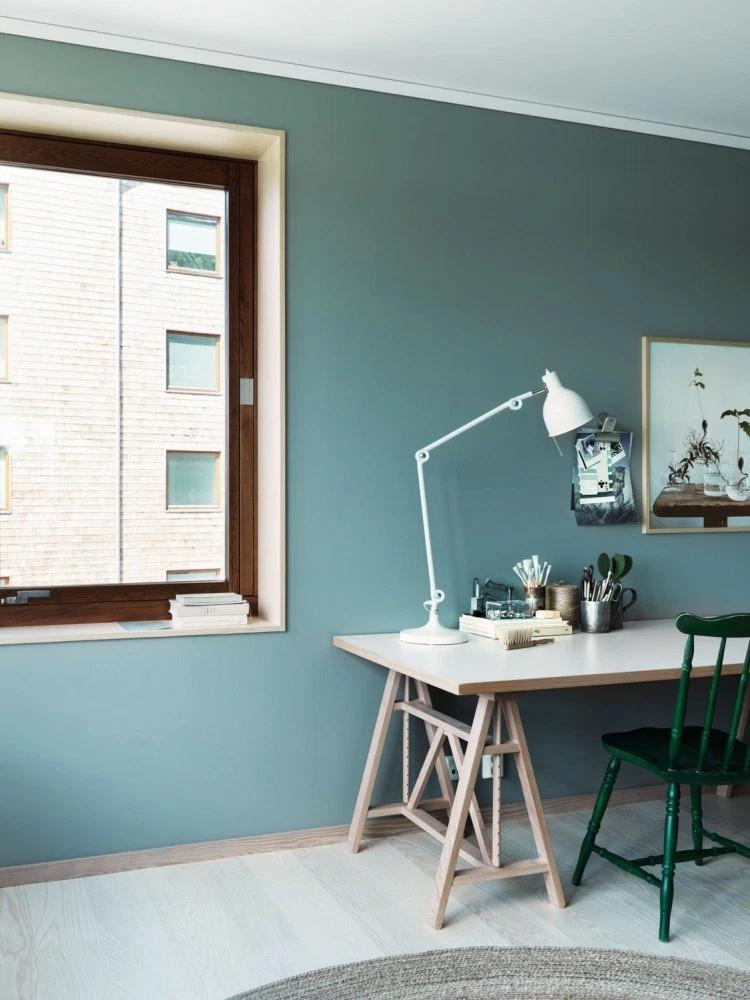 前卫现代 色彩搭配 二居 小资 书房图片来自玉玲珑装饰在李女士绿色有新意的家的分享