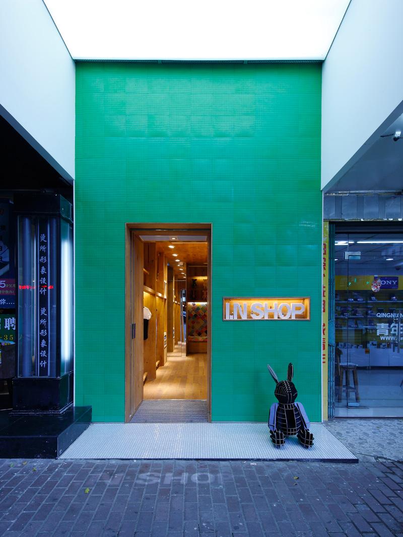 大墅尚品 现代风 19平 服装店 玄关图片来自大墅尚品-由伟壮设计在现代风格服装店·小方块大世界!的分享