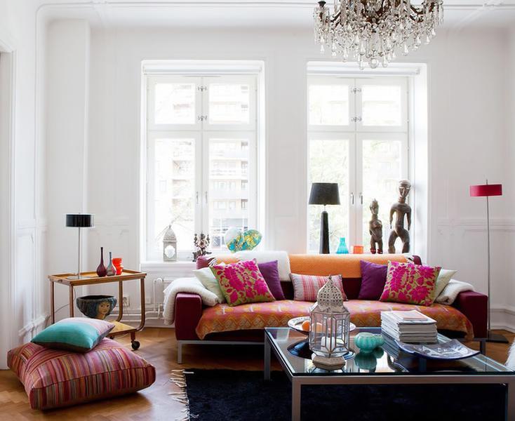 客厅图片来自今朝装饰张智慧在田园美式混搭设计的分享