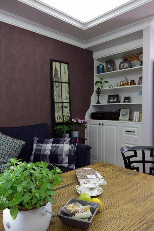 简约 美式风格 复式装修 客厅图片来自实创装饰上海公司在150㎡复式简美风,太实用啦!的分享