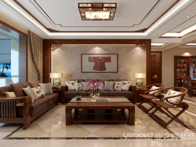 三居 太原业之峰 环保家装 客厅图片来自太原业之峰诺华装饰杨丽茹在中式书香的分享