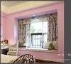 女儿房窗景,对于女孩子,父母总是喜欢当公主来养,所以粉红色调加上小碎花布艺就成了必选……
