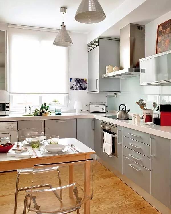 厨房2图片来自家焕然一馨在80㎡优雅两居超别致的中西混搭风的分享