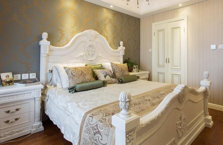简约 欧式 混搭 三居 舒适风格 白领 80后 小资 卧室图片来自成都V2装饰在贵气典雅 打造简欧风住宅的分享
