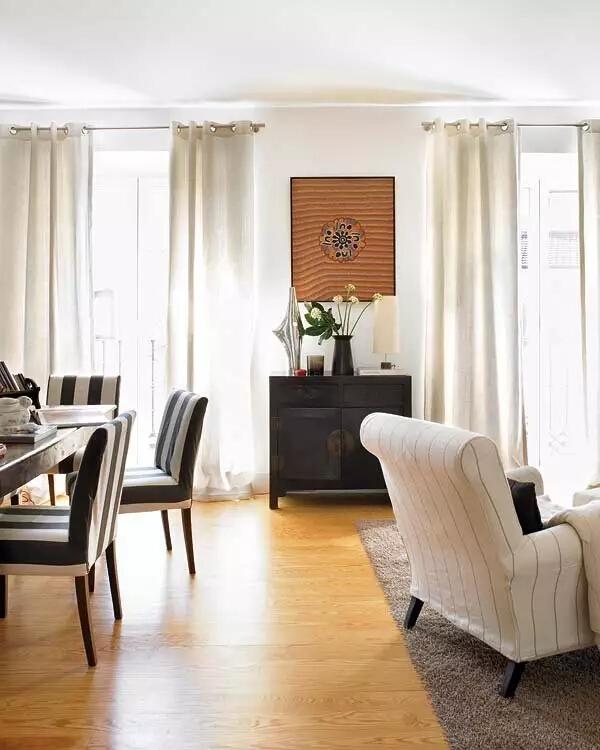 客厅2图片来自家焕然一馨在80㎡优雅两居超别致的中西混搭风的分享