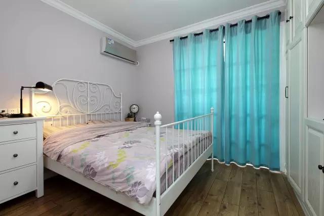 简约 美式风格 复式装修 卧室图片来自实创装饰上海公司在150㎡复式简美风,太实用啦!的分享