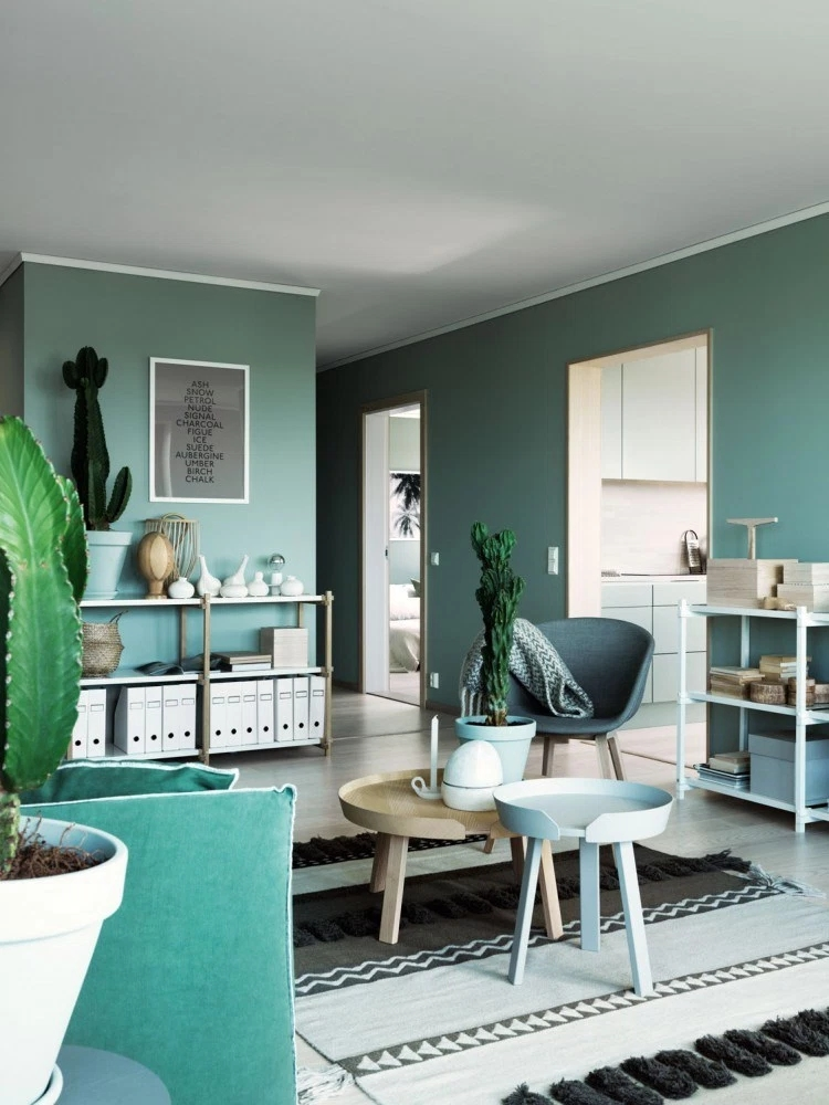 前卫现代 色彩搭配 二居 小资 客厅图片来自玉玲珑装饰在李女士绿色有新意的家的分享