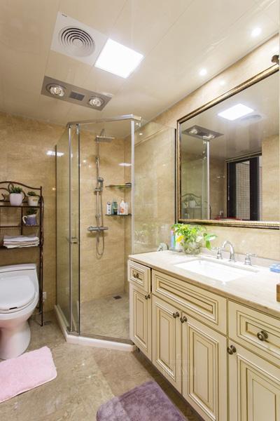 简约 欧式 混搭 三居 舒适风格 白领 80后 小资 卫生间图片来自成都V2装饰在贵气典雅 打造简欧风住宅的分享