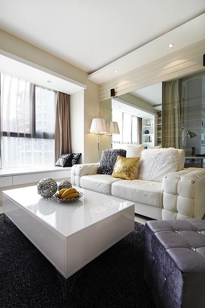 简约 80后 混搭 客厅图片来自rongzhimei在89平方简约3室2厅的分享