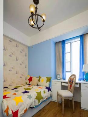 地中海 三居 白领 收纳 旧房改造 小资 客厅 儿童房图片来自沙漠雪雨在110平米浪漫别有情调地中海三居的分享