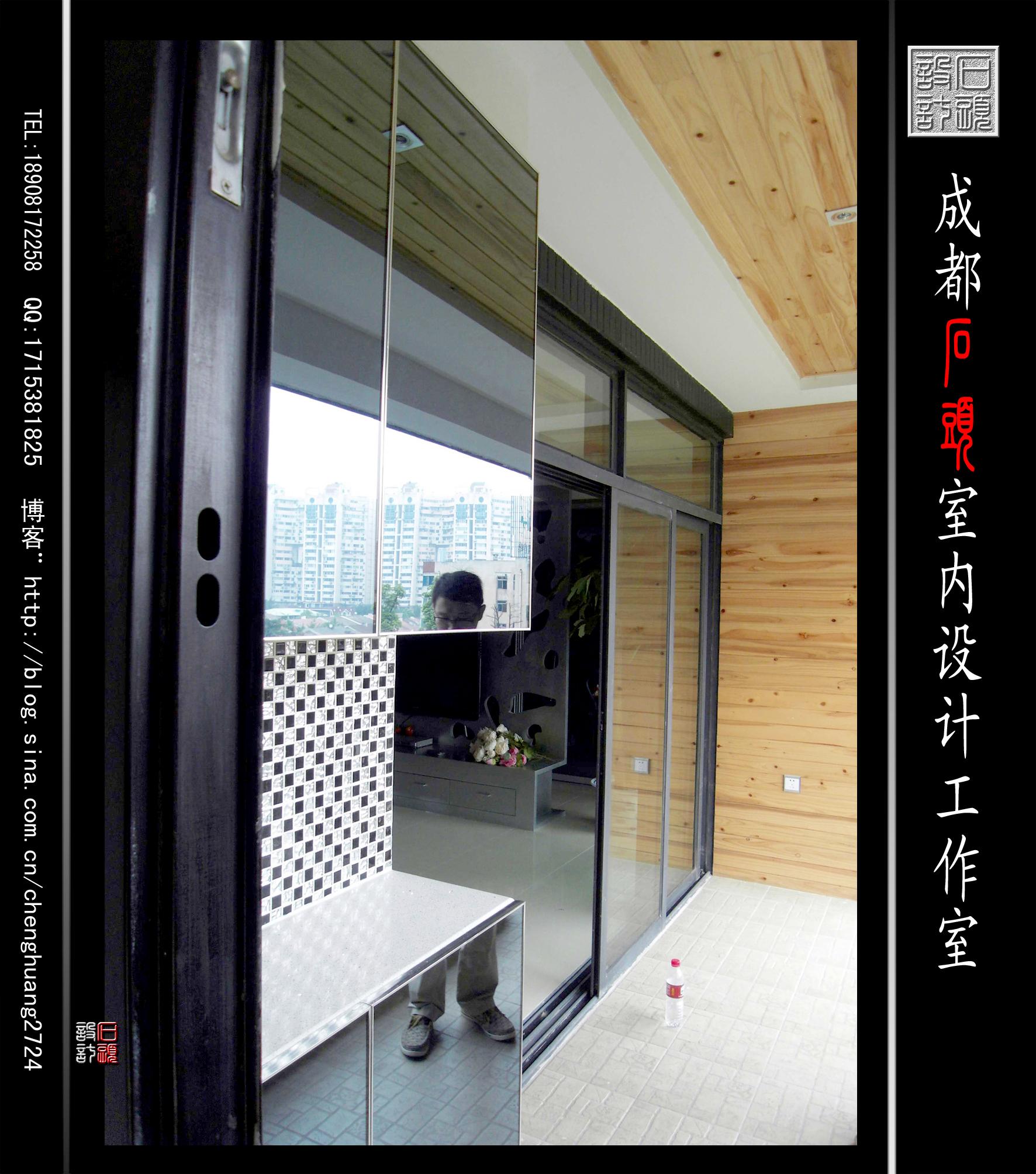 装饰设计 家装设计 家居 家装 装修 阳台图片来自成都石头室内设计家装设计工作室在首座的分享