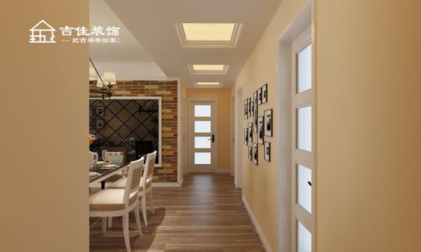 案例中以暖色为主色调,没有复杂的吊顶处理,没有华丽的灯池装饰,简单的双层石膏线走边,配以深色的个性化背景墙装饰,简洁的时尚与时代感,设计感十足的布局与家具,看起来整体而自然