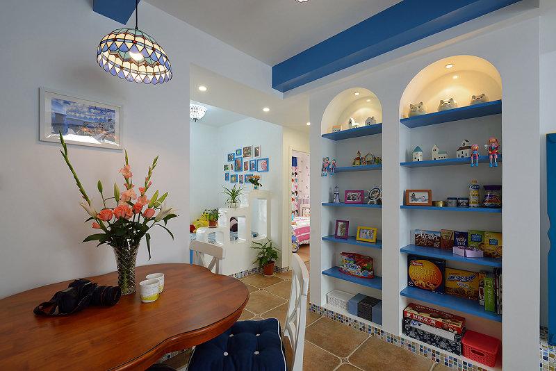 餐厅图片来自玉玲珑装饰在于先生蓝调地中海的新房的分享