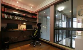 宜家 三居 书房图片来自北京大成日盛装饰设计在宜家 三居室 张工长案例欣赏的分享