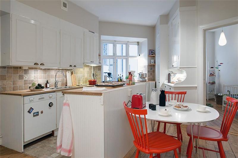 三居 北欧风格 厨房图片来自成都幸福魔方装饰公司在宏达世纪锦城124㎡北欧风格的分享