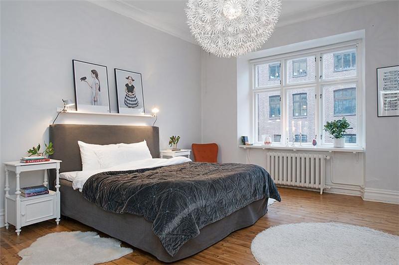 三居 北欧风格 卧室图片来自成都幸福魔方装饰公司在宏达世纪锦城124㎡北欧风格的分享