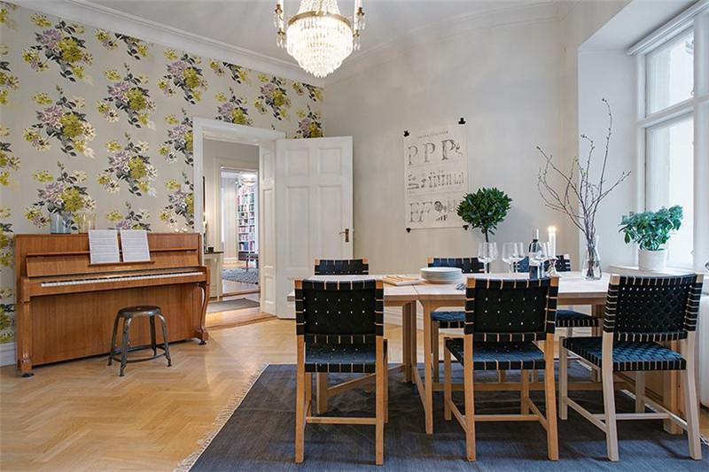 三居 北欧风格 餐厅图片来自成都幸福魔方装饰公司在宏达世纪锦城124㎡北欧风格的分享
