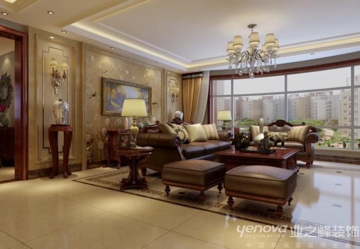 四居 新古典风格 太原业之峰 客厅图片来自太原业之峰诺华装饰杨丽茹在欧式风情的分享