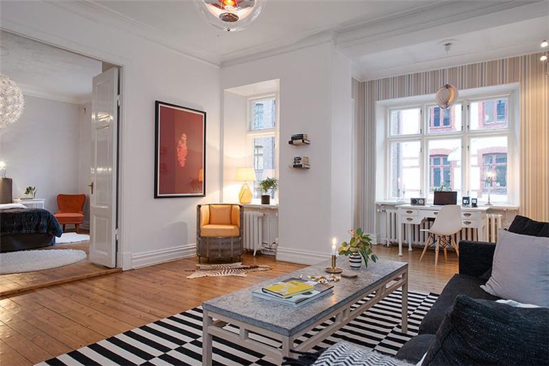 三居 北欧风格 客厅图片来自成都幸福魔方装饰公司在宏达世纪锦城124㎡北欧风格的分享