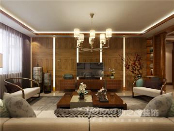 府园东居140平新中式风格设计图