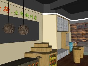 厨荷生鲜店铺设计