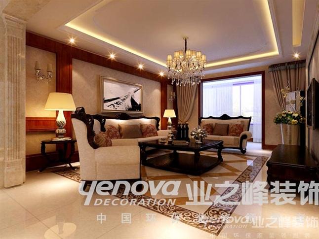 客厅图片来自太原业之峰诺华装饰杨丽茹在欧式的分享