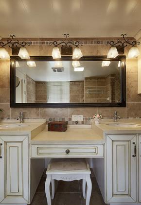 简约 新古典 三居 白领 卫生间图片来自家装大管家在精致优雅小资 120平现代美式3居的分享