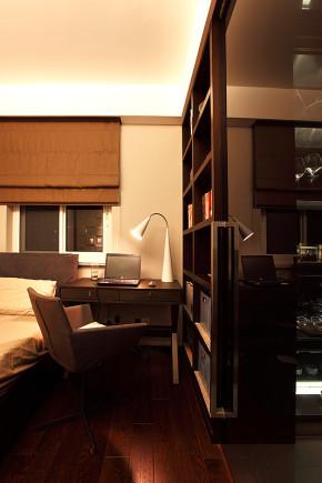 简约 三居 收纳 港式 80后 书房图片来自武汉苹果装饰在猫舍—港式简约的分享