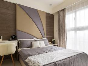 简约 三居 现代 舒适 白领 80后 小资 卧室图片来自成都V2装饰在清新质朴简约三居的分享