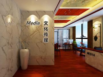 万达中心中式古典办公