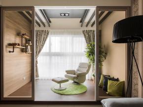 简约 三居 现代 舒适 白领 80后 小资 阳台图片来自成都V2装饰在清新质朴简约三居的分享