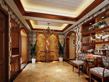 奥龙观邸260平美式风格
