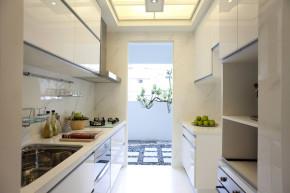 简约 三居 80后 小资 中式 厨房图片来自幸福魔方装饰公司在简约新中式风格  打破传统装修的分享