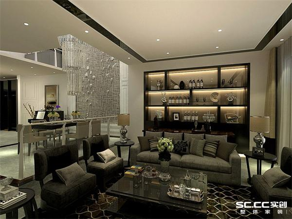 别墅 客厅 餐厅 白领 80后 小资 港式 后现代图片来自沈阳装修实创装饰-青青在港式别墅设计的分享