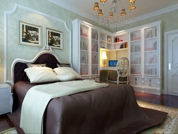 曲江龙邸95平欧式二居室