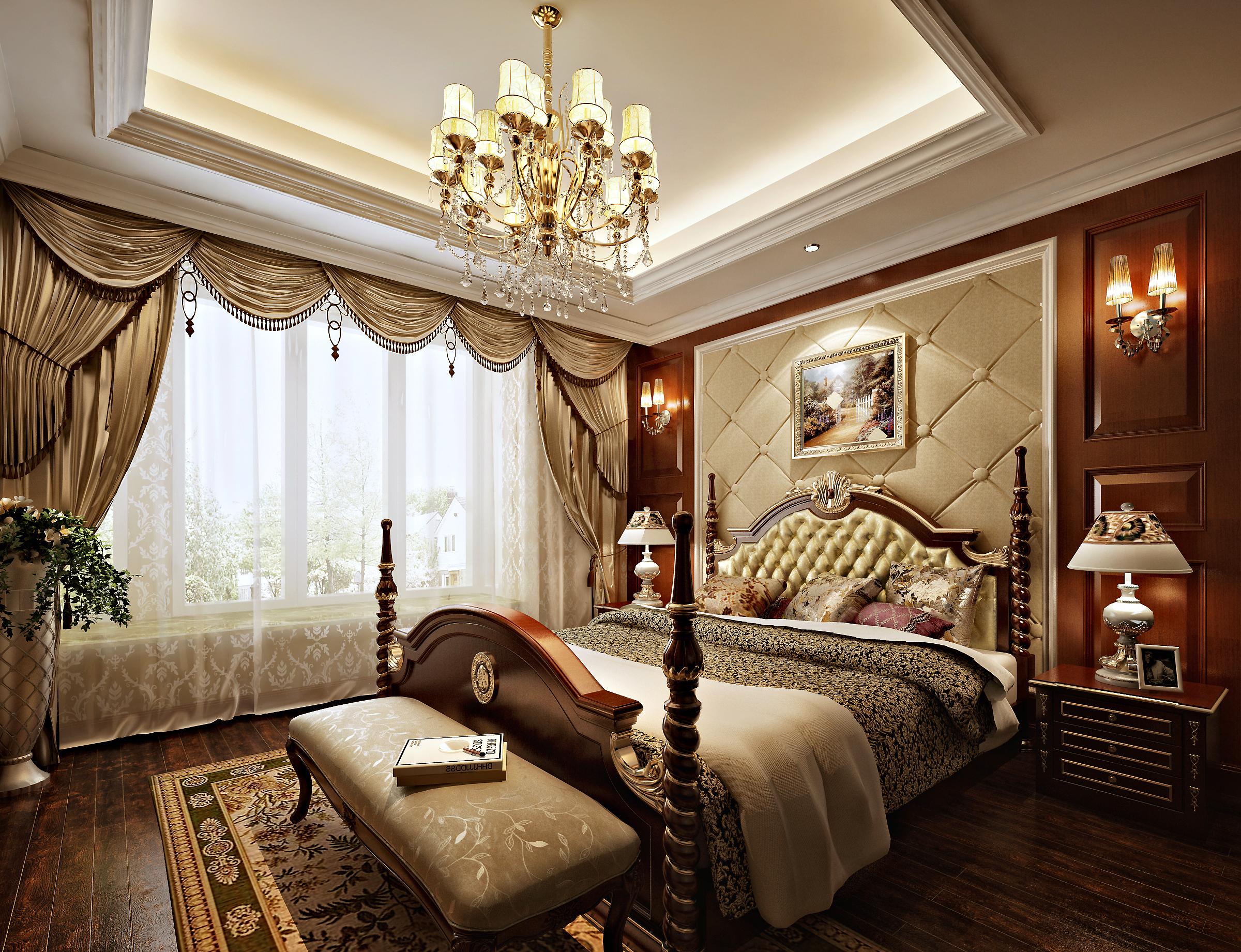 美式 奥龙观邸 九创装饰 济南装修 奢华图片来自灼灼天地在奥龙观邸260平美式风格的分享