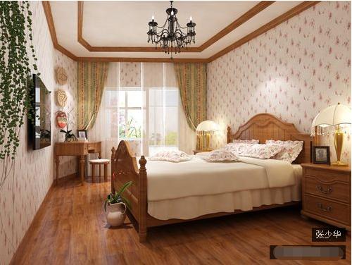 二居 卧室图片来自西安紫苹果装饰工程有限公司在欧美风情4的分享