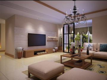 现代风格 147平三居室