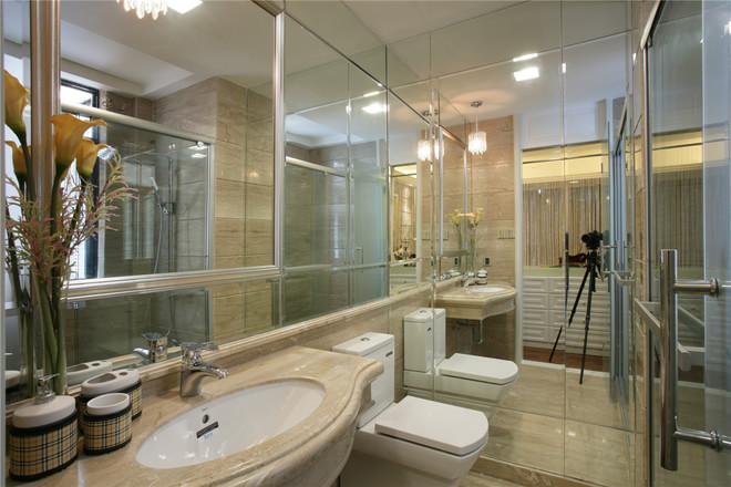 欧式 三居 小资 简约 卫生间图片来自rongzhimei在欧式风格的分享