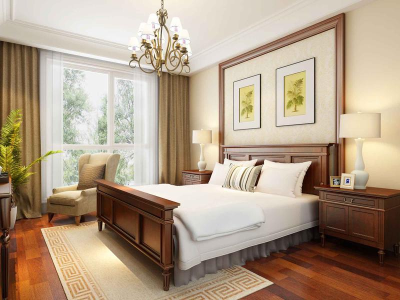 欧式 跃层 卧室图片来自今朝装饰张智慧在轻奢简欧美丽园四口之家的分享