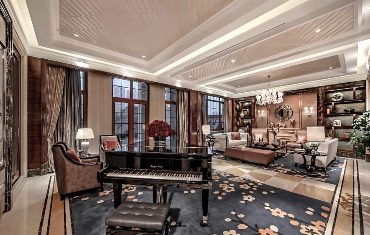 公寓 古典 新式 客厅图片来自张勇高级室内设计师在泛海国际新古典精品设计案例效果的分享