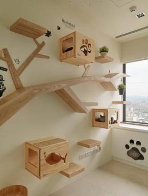三居 收纳 北欧 简约 其他图片来自武汉苹果装饰在猫舍—香树花城的分享