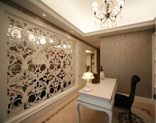 荣盛华府 廊坊装修 燕郊装修 复式装修 欧式设计 书房图片来自小户型装修案例在欧式风格设计的分享