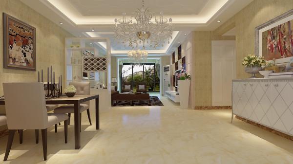 如意花园140平混搭风格-君子兰装饰 客餐厅效果