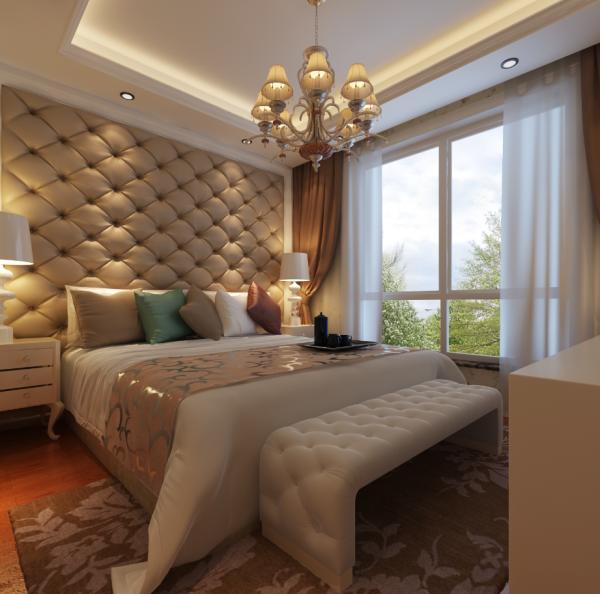 生活家装饰--徜徉集130平米欧式新古典风格卧室装修效果图