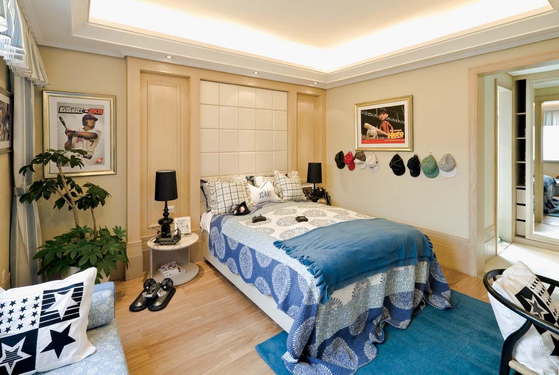 欧式风格 龙湖好望山 别墅 儿童房图片来自一道伍禾装饰设计师杨洋在欧式风格之龙湖好望山的分享