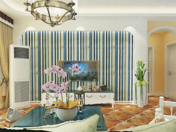 锦棠120平美式风格设计