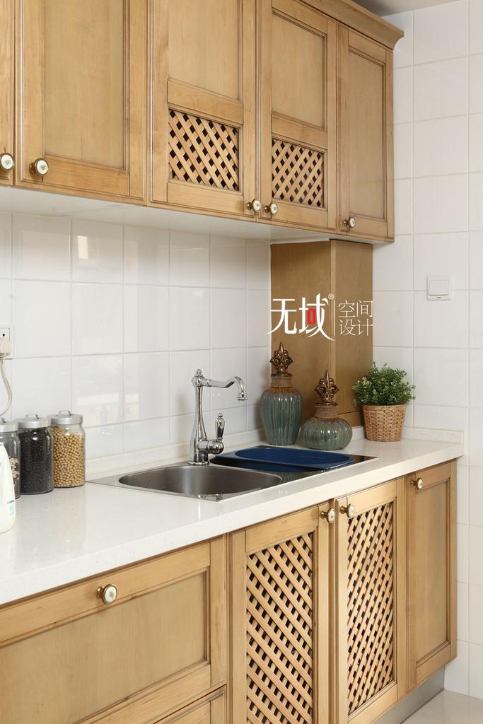 别墅 复式 中式 古典 厨房图片来自无域空间设计刘艺在名佳花园中式风格设计案例的分享